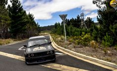 Sneaking the corner. Stills by Automotive Photography, Car Photography, Landscape Photography, Bmw E30, What Happens When You, Stunts, Vintage Cars, Race Cars, Landscapes