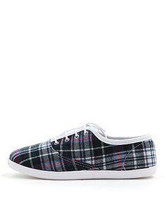 American Apparel Unisex Flannel Tennis Shoe, $25.07