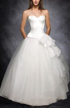 Sweetheart Ball Gown With Bow Detail Wedding Dress Wedding Gowns - Outerdress.com