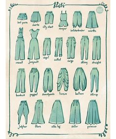 Fashion Design Sketches 614600680381154693 - From 100 Tuesday Tips volume some of the different type of pants. I personally love culotte and harem pants. Source by Fashion Design Drawings, Fashion Sketches, Drawing Fashion, Fashion Drawing Tutorial, Drawing Techniques, Drawing Tips, Drawing Drawing, Drawing Poses, Drawing Ideas