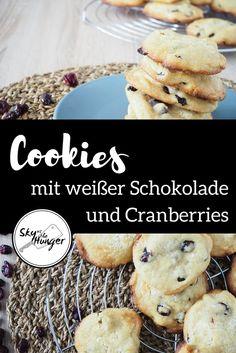 Cookies mit weißer Schokolade und Cranberries - SKY VS THE HUNGER