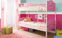 #Princess #pembe #dekorasyon #pinkroom #decoration #cocukodasi #oda #room #pembeoda #ranza #bed #yatak