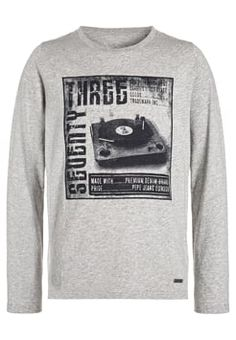 Pepe Jeans - JEROLD - Long sleeved top - light grey marl