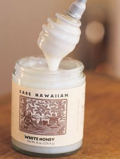 Hawaiian White Honey is a rare treat—just ask the bees.  I could use this honey and maybe the wafers would resemble Manna more closely.