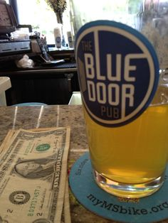 Great beer and even better burgers at the Blue Door Pub in St. Paul, Minnesota.