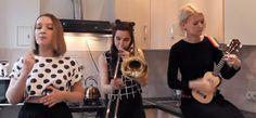 ...Poul om Musik...: 3 piger, 1 Ukulele