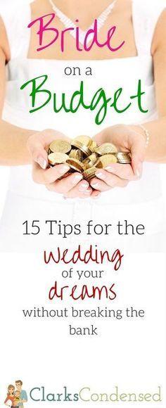 Wedding Ideas / DIY Wedding / Wedding Stuff / Budget Wedding / Wedding on a Budget / Wedding / Wedding Planning / Wedding Food