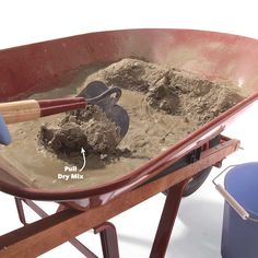 How to hand mix concrete so it delivers maximum strength and durability. Concrete mixing isn't complicated and it should last when done well. Concrete Mix Ratio, Types Of Concrete, Mix Concrete, Concrete Steps, Poured Concrete, Stamped Concrete, Concrete Repair Products, Outdoor Projects, Diy Projects