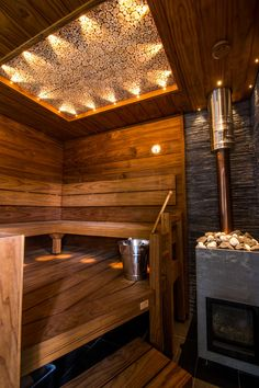 Sauna is calling Sauna House, Sauna Room, Mobile Sauna, Sauna Kits, Indoor Sauna, Gym Room At Home, Sauna Design, Spa Rooms, Luxury Pools