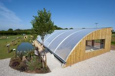 The Aquaponics Solar Greenhouse | Humble by Nature, Wye Valley, Wales