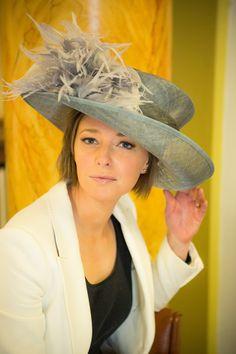 rose young designs christina formal hat, £110.00