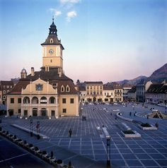 ROMANIA - BRASOV CENTRAL SQUARE by Mizz Ana, via Flickr
