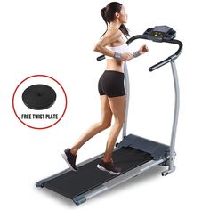 New Portable Folding Electric Motorized Treadmill  Running Gym Fitness Machine…
