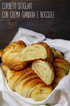 I croissant con crema di nocciole egianduja di Pepper