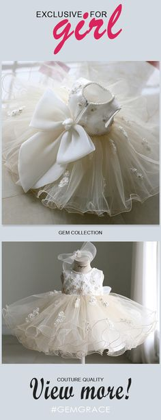 Only $108.99, Flower Girl Dresses Vintage Puffy Ballet Dance Performance Flower Girl Dress Couture High Quality #TG7032 at #GemGrace. View more special Flower Girl Dresses now? GemGrace is a solution for those who want to buy delicate gowns with affordable prices, a solution for those who have unique ideas about their gowns. 2018 new arrivals, shop now to get $10 off!