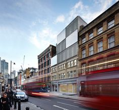 Duggan Morris injects new life into Georgian office block in Shoreditch with metal mesh