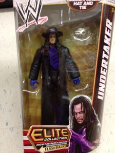 WWE MATTEL ELITE 23 UNDERTAKER FIGURE New Wrestling Action Under Taker flashback #undertaker #wwe