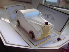 Wedding car ivory by: fionap1971