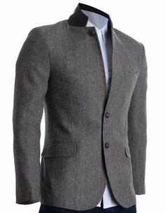 FLATSEVEN Herren Slim Fit Winter Wolle Mischungen Jacket Herringbone (BJ210) FLATSEVEN, http://www.amazon.de/dp/B00A6CC7DK/ref=cm_sw_r_pi_dp_jaUNtb1VPGKPY