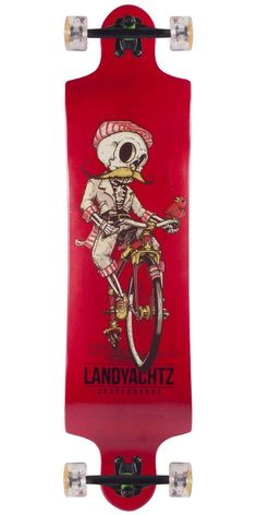 Landyachtz Switch 40 Longboard Skateboard Complete 2013A. A super fun symmetrical board that is great for freeriding and downhill as well!