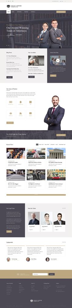 Shape5 - Legal Lawyer Club Template - Functional The Legal Lawyer responsive Joomla template is the all in one solution for any lawyer website. The design has more than enough features for a lawyer site such as the S5 Masonry modules and the S5 MailChimp module...