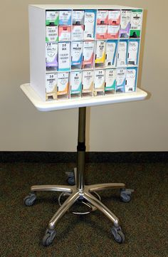 Suture Storage Carts Premium Double Sided Special