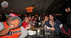 Postgame meetup at Bar Louie after the Wizards game but just in time for $3 beer happy hour! Here's what went down.