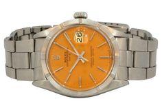 Rolex Date Orange Dial, 1972 - $6,000.00 - but it has an orange face.  please???!!!