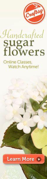Online Cake Decorating Class ~Gumpaste flowers~