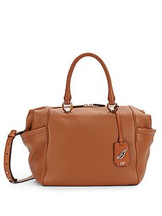 DF Sutra Small Leather Duffle