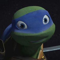 TMNT 2012 -Leo and his Cute Smile by Left4Nellis on DeviantArt