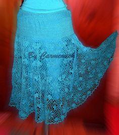 <b>Fuste Crosetate</b> - ApkXda Crochet Top, Lace, Tops, Women, Fashion, Moda, Women's, Fashion Styles, Racing