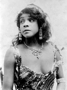 """Born in New York City on Valentine's Day 1880, Aida Overton began her career while still a teenager -- as a chorus member of """"Black Patti's Troubadours."""""""