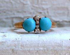 J - Turquoise by Tatyana on Etsy