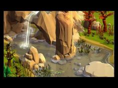 Cool lowpoly water effect made with Unity - YouTube