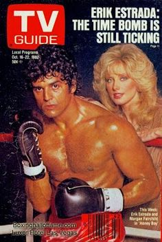 Erik Estrada vs Leonardo Decaprio or Mark Wahlberg? I go with Erik. Especially since he is motivated by Morgan Fairchild. She would definitely motivate me. She is 63 and still looks HOT!  Boxing Hall of Fame - Google+
