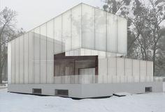 a f a s i a. Concurso Recreación de la volumetría de la ya desaparecida casa en Dessau de Walter Gropius.