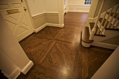 A unique pattern installed and finished by FlooredAtHome using Red Oak. Hardwood Floors, Flooring, Red Oak, Tile Floor, Photo And Video, Unique, Pattern, Instagram, Wood Floor Tiles