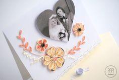 Jubileuszowa kartka ze zdjęciem | Kartki ręcznie robione, zaproszenia ślubne handmade Poznań