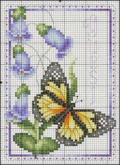 Victoria - Handmade Creations : Πεταλούδες ένα αγαπημένο θέμα για κέντημα