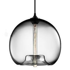 Globe Pendant, 1 Light, Concise Iron Painting – USD $ 119.99