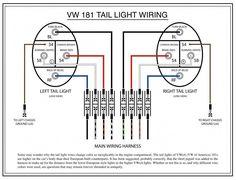 69 vw bug vw bus brake warning light 1973 vw beetle tail light wiring