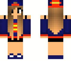 Best Chicas Minecraft Images On Pinterest Cute Girls Minecraft - Skins para minecraft pe para mujer