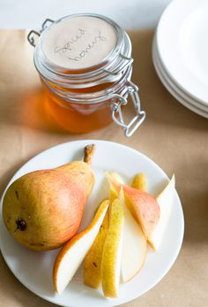 How to Infuse Honey pears