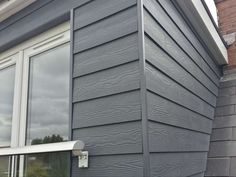 Concrete Cladding, Roof Cladding, House Cladding, Timber Cladding, Cladding Ideas, Loft Dormer, Dormer Roof, Dormer Windows, Grey Windows