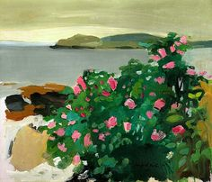 Fairfield Porter  Wild Roses, 1961