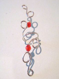Sterling Fire Lily Ear Cuff Non Pierced by ArianrhodWolfchild, $15.00