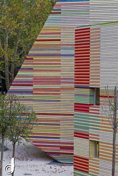 L'Aquila, Italy by Renzo Piano