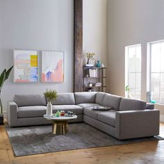 Browse modern sectionals in a range of styles, shapes and configurations. Make the most of your space!
