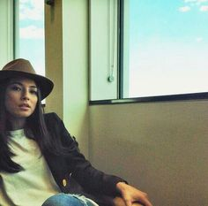 Our Harlem Fedora on the smazing Jessica Gomes Jessica Gomes, Bucket Hat, Hats, Image, Fashion, Moda, Bob, Hat, Fashion Styles